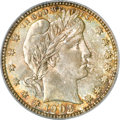 Barber Quarters, 1903-O 25C MS66 PCGS. CAC....