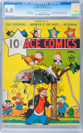 Platinum Age (1897-1937):Miscellaneous, Ace Comics #1 (David McKay Publications, 1937) CGC FN 6.0 Cream tooff-white pages....