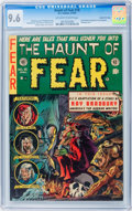 Golden Age (1938-1955):Horror, Haunt of Fear #18 Gaines File pedigree (EC, 1953) CGC NM+ 9.6Off-white to white pages....