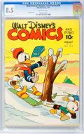 Golden Age (1938-1955):Cartoon Character, Walt Disney's Comics and Stories #29 (Dell, 1943) CGC VF+ 8.5 Off-white pages....