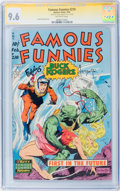 Golden Age (1938-1955):Science Fiction, Famous Funnies #210 Signature Series (Eastern Color, 1954) CGC NM+9.6 Off-white pages....