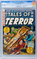 Golden Age (1938-1955):Horror, Tales of Terror Annual #3 Williamsport pedigree (EC, 1953) CGCVF/NM 9.0 Cream to off-white pages....