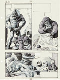 "Original Comic Art:Panel Pages, Richard Corben Heavy Metal Vol. 2 #4 ""New Tales of theArabian Nights"" page 23 Original Art (Heavy Metal, 1978)...."