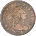 Early Half Dollars, 1801 50C VF20 PCGS....