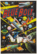 Original Comic Art:Covers, L. B. Cole Blue Bolt #108 Cover Re-Creation Original Art(1981)....