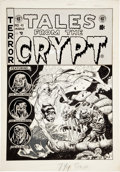 "Original Comic Art:Covers, Jack Davis Tales From the Crypt #40 ""Pearly to Dead""Cover Original Art (EC, 1954)...."