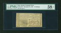 Colonial Notes:New Jersey, New Jersey December 31, 1763 12s PMG Choice About Unc 58 EPQ....