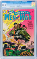 Golden Age (1938-1955):War, All-American Men of War #16 Salida pedigree (DC, 1954) CGC VF+ 8.5White pages....