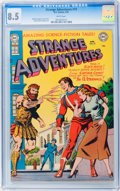 Golden Age (1938-1955):Science Fiction, Strange Adventures #19 (DC, 1952) CGC VF+ 8.5 White pages....