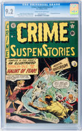 Golden Age (1938-1955):Horror, Crime SuspenStories #4 (EC, 1951) CGC NM- 9.2 Cream to off-whitepages....