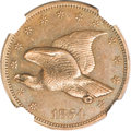 Patterns, 1854 P1C Flying Eagle Cent, Judd-164 Original, Pollock-189, R.5,PR64 Brown NGC....