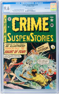 Golden Age (1938-1955):Horror, Crime SuspenStories #4 Gaines File pedigree 5/11 (EC, 1951) CGC NM+9.6 Off-white to white pages....
