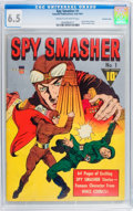 Golden Age (1938-1955):Adventure, Spy Smasher #1 Crowley Copy pedigree (Fawcett, 1941) CGC FN+ 6.5Cream to off-white pages....