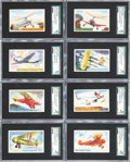 "Non-Sport Cards:Sets, 1930's F277-1 Heinz ""Famous Airplanes-Type 1"" Near Set (24/25). ..."