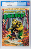 Golden Age (1938-1955):Horror, Adventures Into The Unknown #24 White Mountain pedigree (ACG, 1951)CGC NM 9.4 White pages....