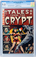 Golden Age (1938-1955):Horror, Tales From the Crypt #41 Gaines File pedigree 8/12 (EC, 1954) CGCVF/NM 9.0 Off-white to white pages....