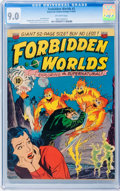Golden Age (1938-1955):Science Fiction, Forbidden Worlds #2 (ACG, 1951) CGC VF/NM 9.0 Off-white pages....