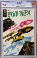 Silver Age (1956-1969):Science Fiction, Star Trek #4 (Gold Key, 1969) CGC NM+ 9.6 Off-white to white pages....