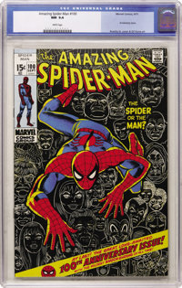 The Amazing Spider-Man #100 (Marvel, 1971) CGC NM 9.4 White pages