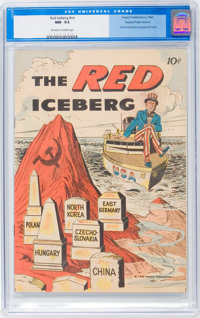 The Red Iceberg #nn (2nd version) (Impact, 1960) CGC NM- 9.2 Off-white to white pages