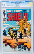 Silver Age (1956-1969):Superhero, Nick Fury, Agent of S.H.I.E.L.D. #7 (Marvel, 1968) CGC NM+ 9.6 Off-white pages....