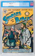 Golden Age (1938-1955):Religious, Picture Stories from the Bible New Testament Edition #3 Gaines Filepedigree (EC, 1946) CGC NM/MT 9.8 Off-white pages....