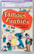 Platinum Age (1897-1937):Miscellaneous, Famous Funnies: A Carnival of Comics #nn (Eastern Color, 1933) CGCApparent PR 0.5 Slight (A) Off-white pages....