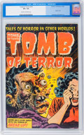 Golden Age (1938-1955):Horror, Tomb of Terror #15 (Harvey, 1954) CGC VF+ 8.5 Cream to off-whitepages....
