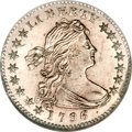 Early Half Dimes, 1796 H10C LIKERTY MS63 NGC....