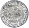 Colonials, 1776 $1 Continental Dollar, CURRENCY, Pewter AU58 PCGS....