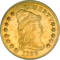 Early Eagles, 1799 $10 Small Stars Obverse AU58 PCGS....
