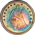 Seated Quarters, 1862 25C MS65 NGC....