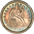 Seated Dimes, 1859 10C MS66 NGC....