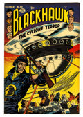 "Golden Age (1938-1955):War, Blackhawk #69 Davis Crippen (""D"" Copy) pedigree (Quality, 1953)Condition: VF...."