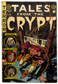 Golden Age (1938-1955):Horror, Tales From the Crypt #44 (EC, 1954) Condition: VG/FN....