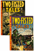 Golden Age (1938-1955):War, Two-Fisted Tales #25 and 30 Group (EC, 1951-53) Condition: AverageFN.... (Total: 2 Comic Books)