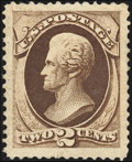 Stamps, 2c Brown (157),...