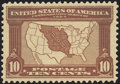 Stamps, 10c Red Brown (327),...
