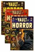 Golden Age (1938-1955):Horror, Vault of Horror #32, 33, and 37 Group (EC, 1953-54).... (Total: 3Comic Books)