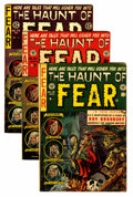 Golden Age (1938-1955):Horror, Haunt of Fear Group (EC, 1953-54) Condition: Average FN-....(Total: 6 Comic Books)