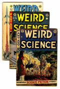 Golden Age (1938-1955):Science Fiction, EC Comics Sci-Fi Group (EC, 1950s) Condition: Average GD/VG....(Total: 9 Comic Books)