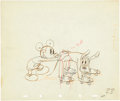 Animation Art:Production Drawing, Society Dog Show Animation Production Drawing Original Art(Disney, 1939). ...