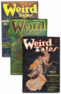Pulps:Miscellaneous, Weird Tales Group (Popular Fiction, 1934-46) Condition: Average FN/VF.... (Total: 4 Items)