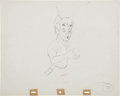 Animation Art:Production Drawing, Peter Pan Animation Production Drawing Original Art (WaltDisney, 1953)....