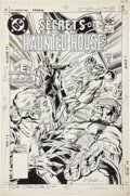 Original Comic Art:Covers, Rich Buckler and Steve Mitchell Secrets of Haunted House #35Cover Original Art (DC, 1981). ...