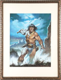 Original Comic Art:Covers, Earl Norem Savage Sword of Conan #171 Cover Original Art(Marvel, 1990)....