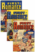 Golden Age (1938-1955):Romance, First Romance File Copies Group (Harvey, 1949-58) Condition:Average VF+....