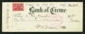 Miscellaneous:Other, Crewe, VA- Bank of Crewe $1.50 Check July 22, 1899 Signed byWilliam H. Mann, Governor of Virginia 1910-14. ...