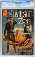 Silver Age (1956-1969):Mystery, Twilight Zone #01-860-207 File Copy (Dell, 1962) CGC NM- 9.2Off-white to white pages....