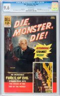 Silver Age (1956-1969):Horror, Movie Classics - Die, Monster, Die #nn File Copy (Dell, 1966) CGCNM+ 9.6 Off-white pages....